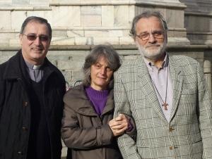 Coniugi Michela Tufigno e diac. Luigi Magni - Don Luciano Andriolo